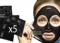 Black mask plus lột mụn, điều trị mụn tận gốc không gây sẹo