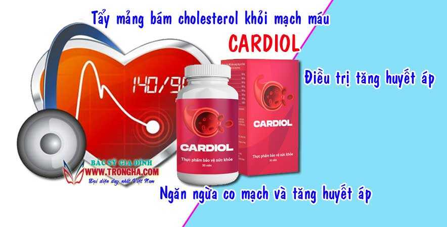 Cardiol giải pháp khẩn cấp cho tim mạch