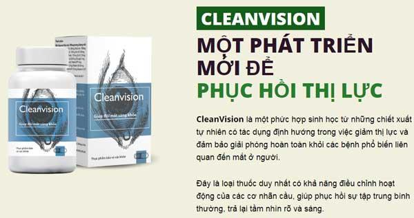 clean vision là gì?