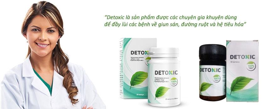 Thuốc detoxic có mấy loại?
