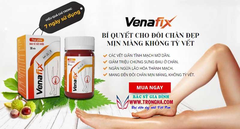 Giới thiệu thuốc venafix
