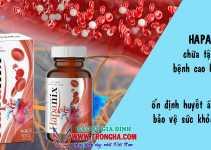 Hapanix chữa tận gốc bệnh cao huyết áp