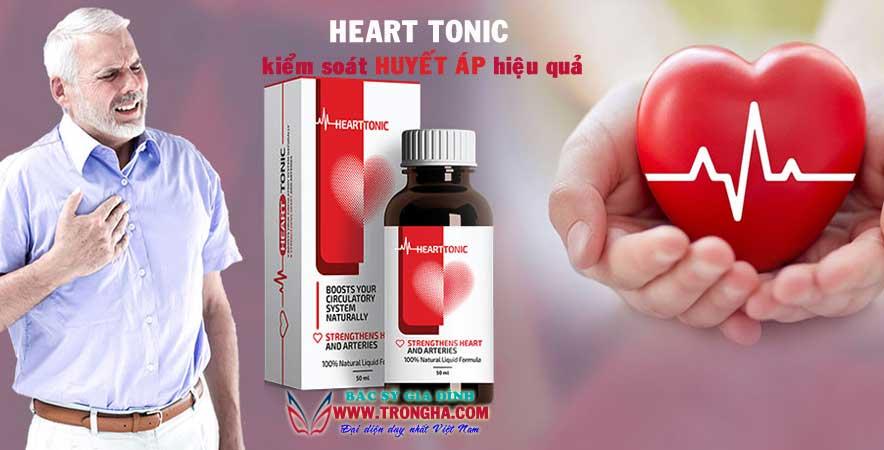 Heart Tonic kiểm soát huyết áp một cách an toàn và hiệu quả