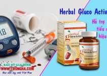 Herbal Gluco Active hỗ trợ điều trị tiểu đường