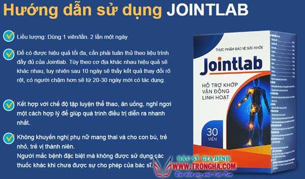 Hướng dẫn sử dụng thuốc jointlab