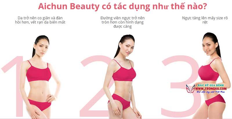 kem aichun beauty có tác dụng gì?