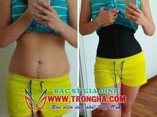 kết quả waist trainer