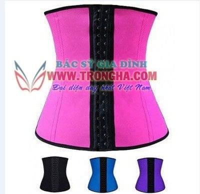 Mầu áo nịt bụng waist trainer