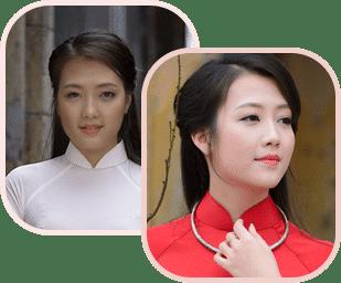 Trước & Sau khi sử dụng Miracle Glow