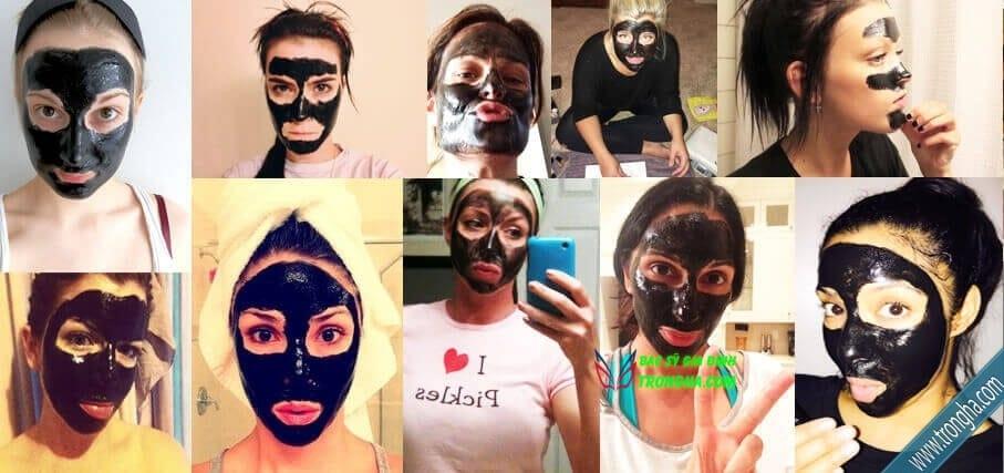 người dùng black mask plus