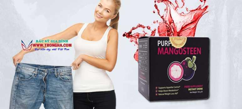 Purple Mangosteen nước uống giảm cân hiệu quả