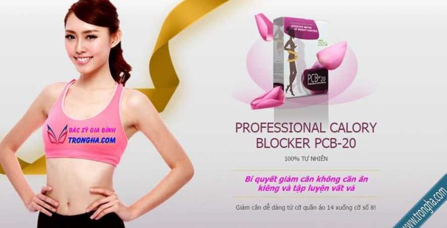 Bột giảm cân PCB-20 giảm cân không cần ăn kiêng, không cần tập luyện vất vả