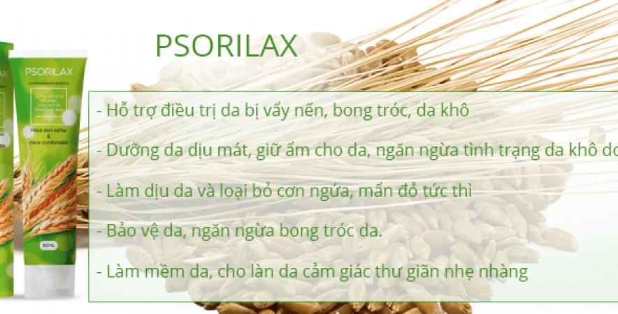 Psorilax loại bỏ bệnh vẩy nến vĩnh viễn