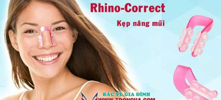 Rhino Correct nâng mũi không cần phẫu thuật