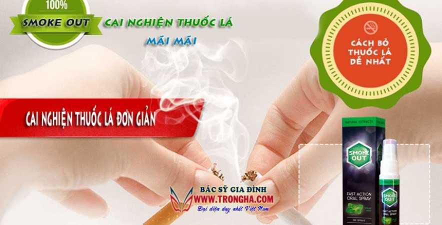 smoke out cai nghiện thuốc lá mãi mãi