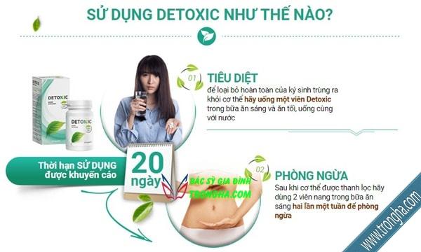 sử dụng detoxic
