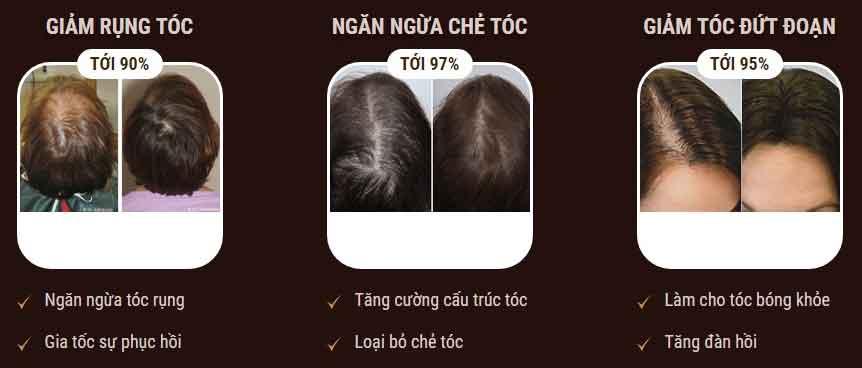 Tác dụng gel ủ tócprincess hair
