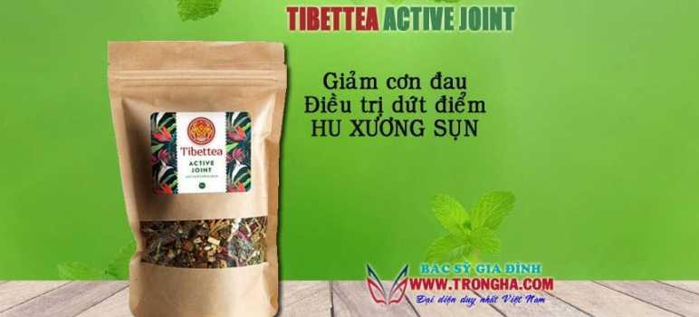 Tibettea Active Joint giảm đau, chữa trị hư xương sụn