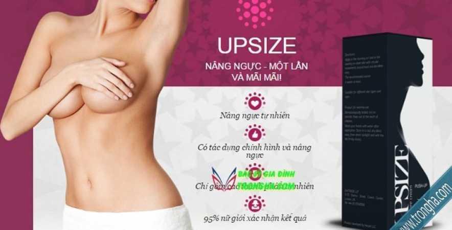 Upsize nâng ngực không phẫu thuật an toàn hiệu quả