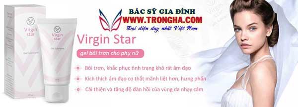 virgin star gel bôi trơn co thắt âm đạo