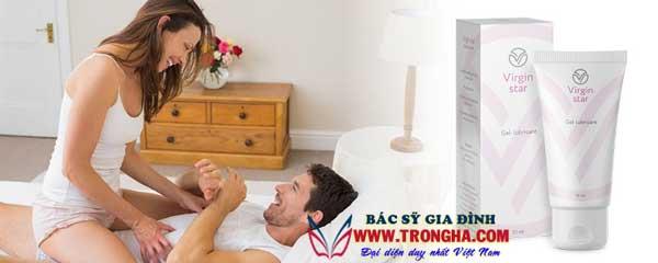 virgin star gel trẻ hóa âm đạo