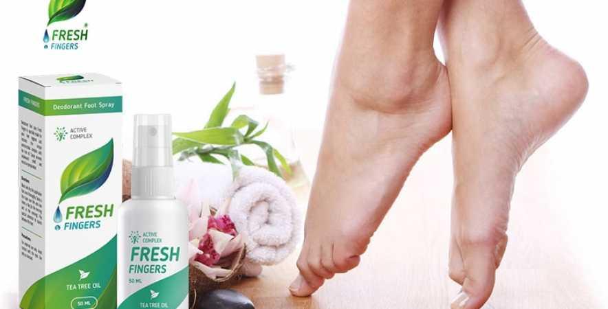 Xịt chân khử mùi fresh fingers